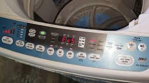 máy giặt toshiba báo lỗi ec5