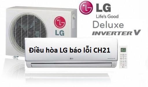 điều hòa LG báo lỗi CH21