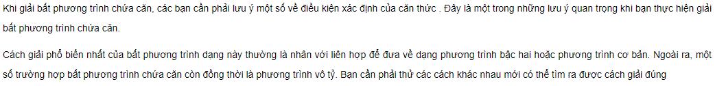 bat phuong trinh chua can