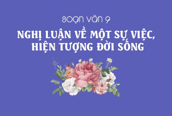 nghi luan ve mot su viec hien tuong doi song